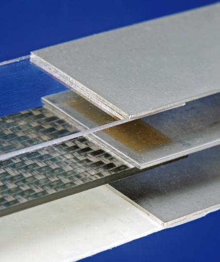 Kunststoff-Metall-Verbindungen (1.4301 / PC, CFK, GFK).